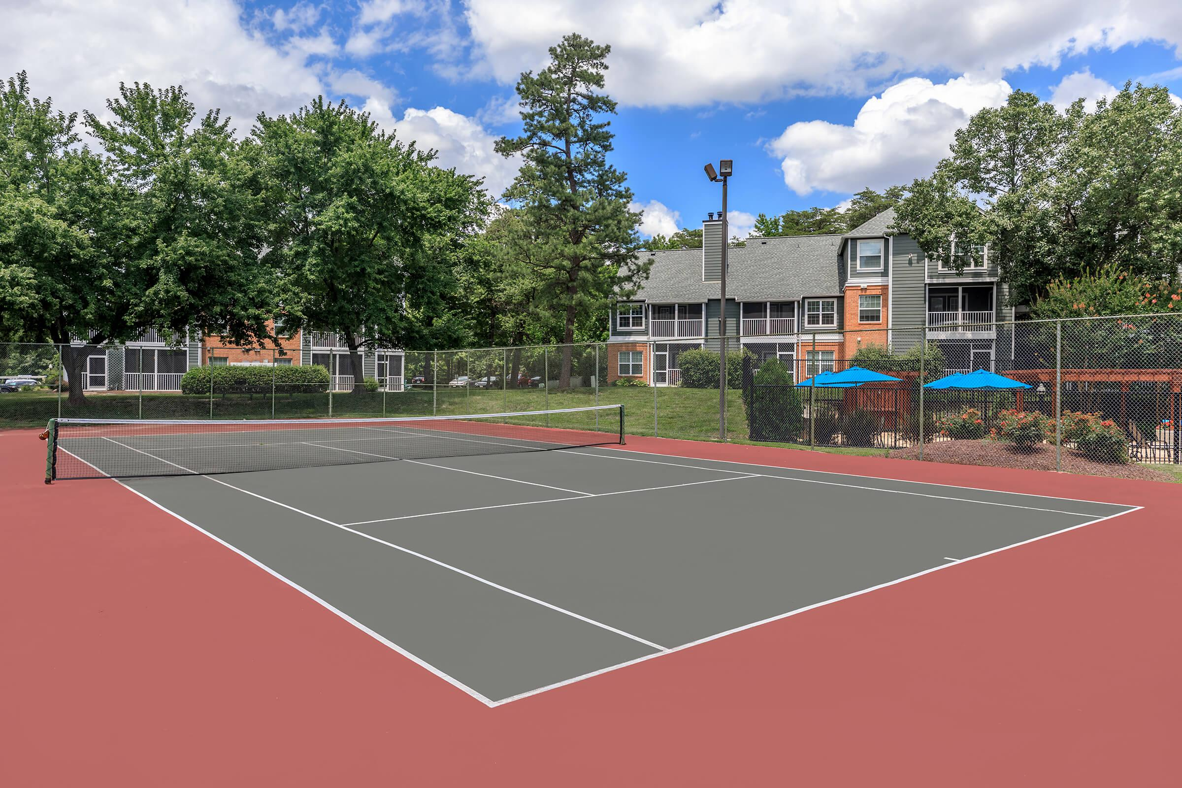 Tennis Court at The Ashberry in Pasadena MD