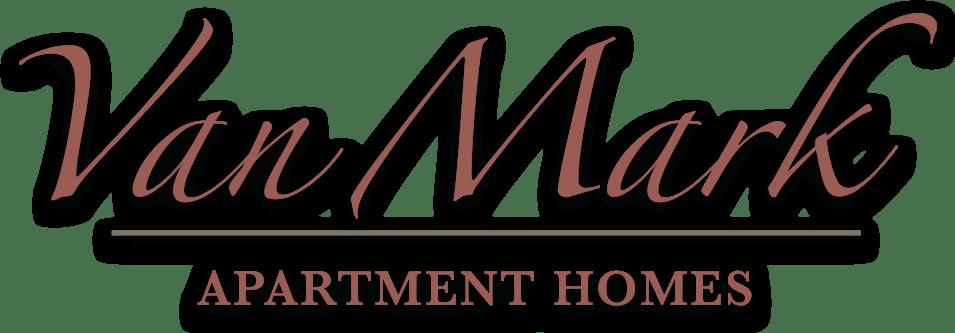 Van Mark Apartments logo (red)