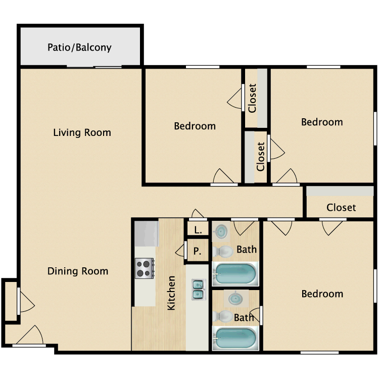 Elite floor plan image