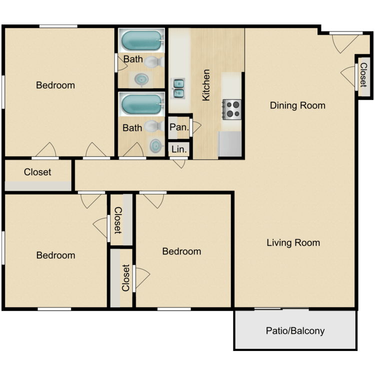 Floor plan image of Elite