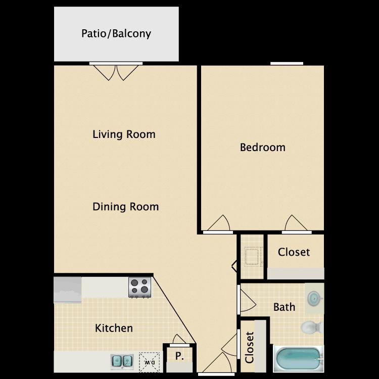 Metropolitan floor plan image