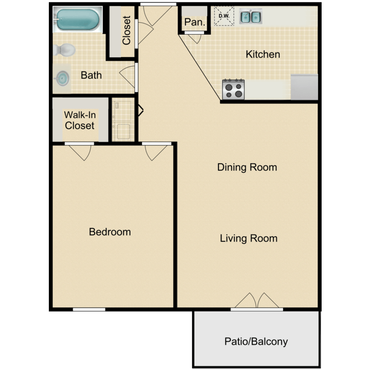 Floor plan image of Metropolitan