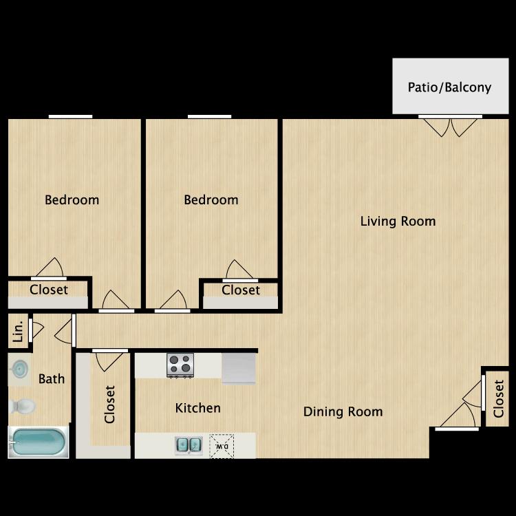 St. Charles floor plan image
