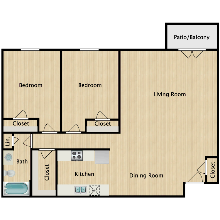 St. James floor plan image