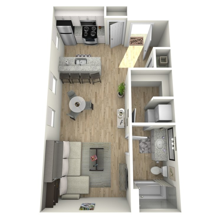 Floor plan image of Rose