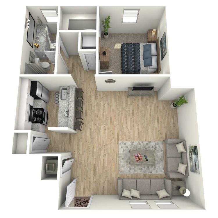 Floor plan image of Renee