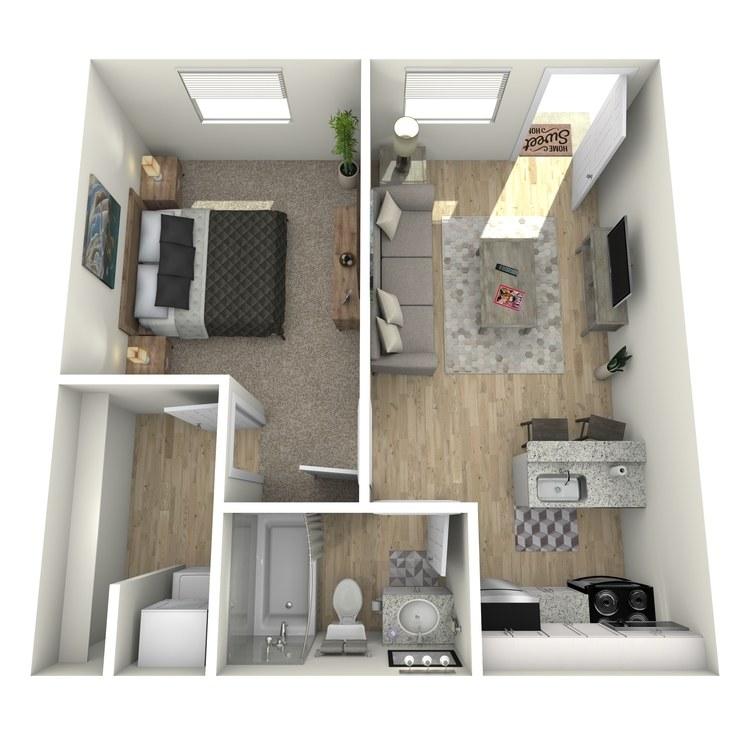 Floor plan image of Jodi
