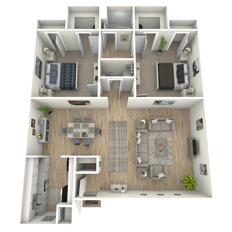 Floor plan image of Shelby