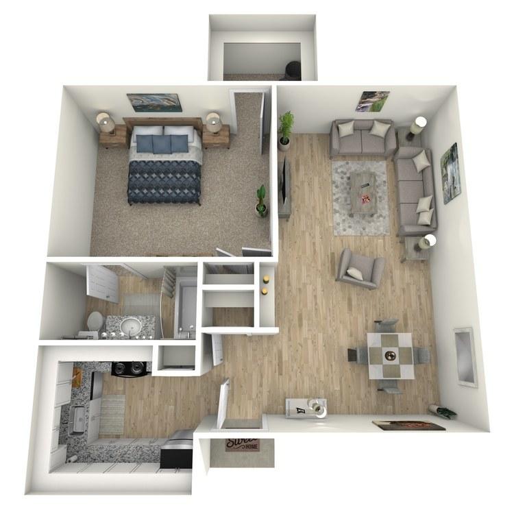 Floor plan image of Kylee