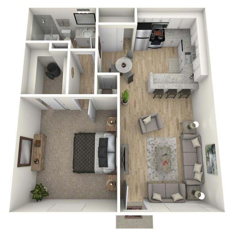 Floor plan image of Kate