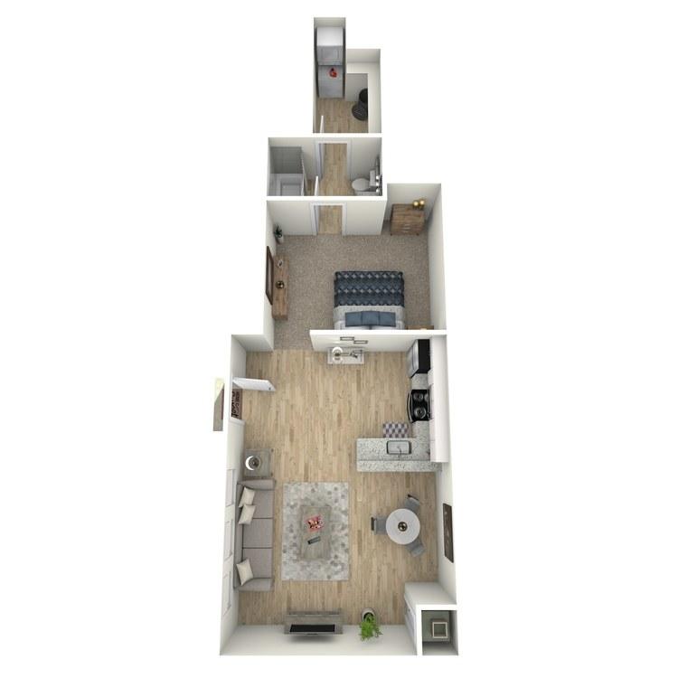Floor plan image of Ellie