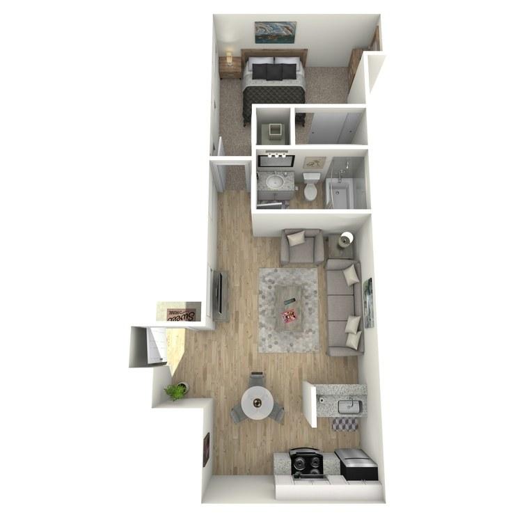 Floor plan image of Ashley