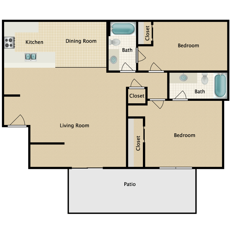 Floor plan image of The Joshua