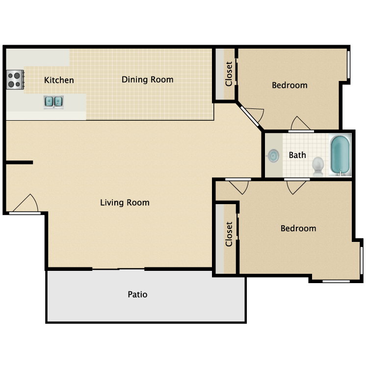 Floor plan image of The Lenwood