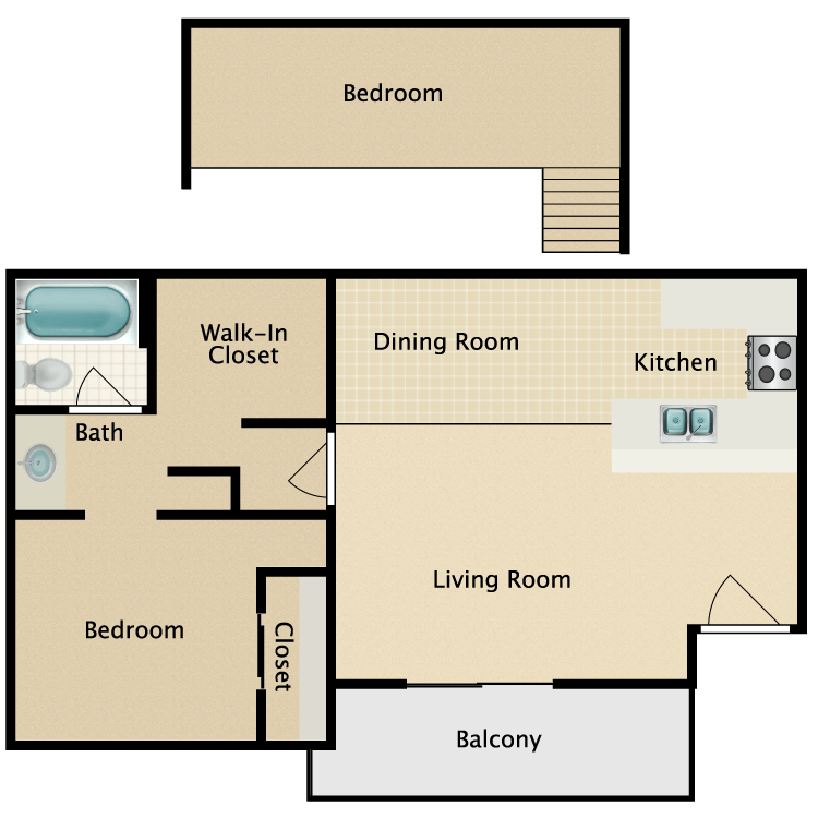 Floor plan image of The Mojave
