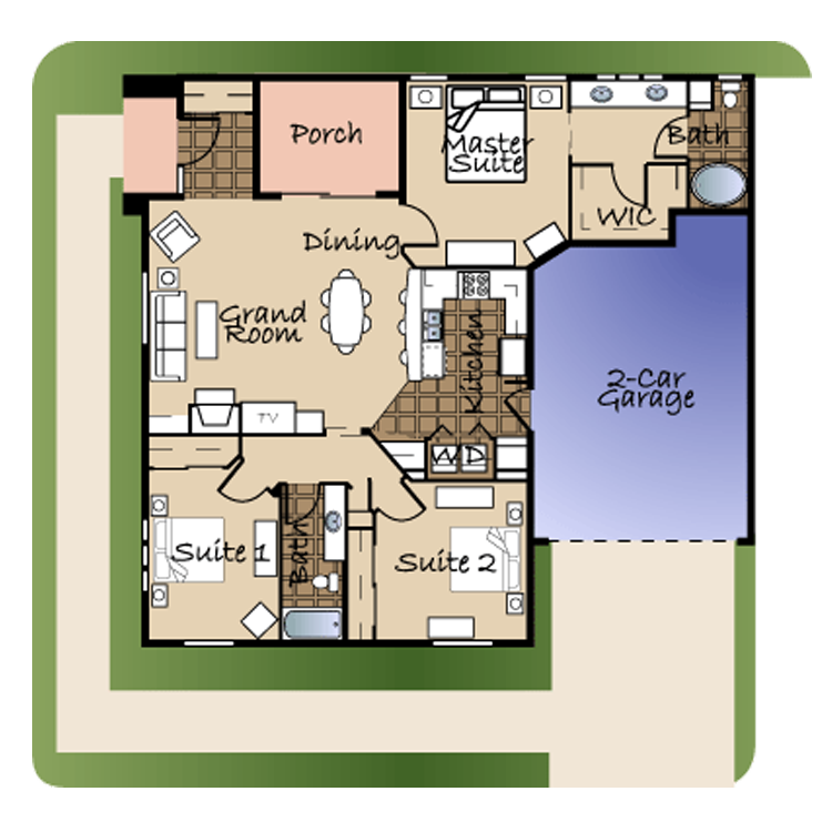 Floor plan image of Unit #1