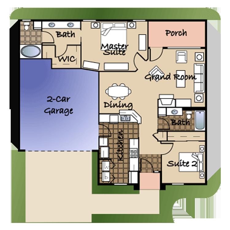 Floor plan image of Unit #2