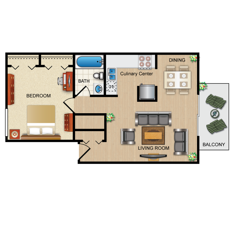 Floor plan image of The Emerald