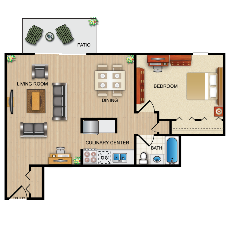 Floor plan image of The Opal