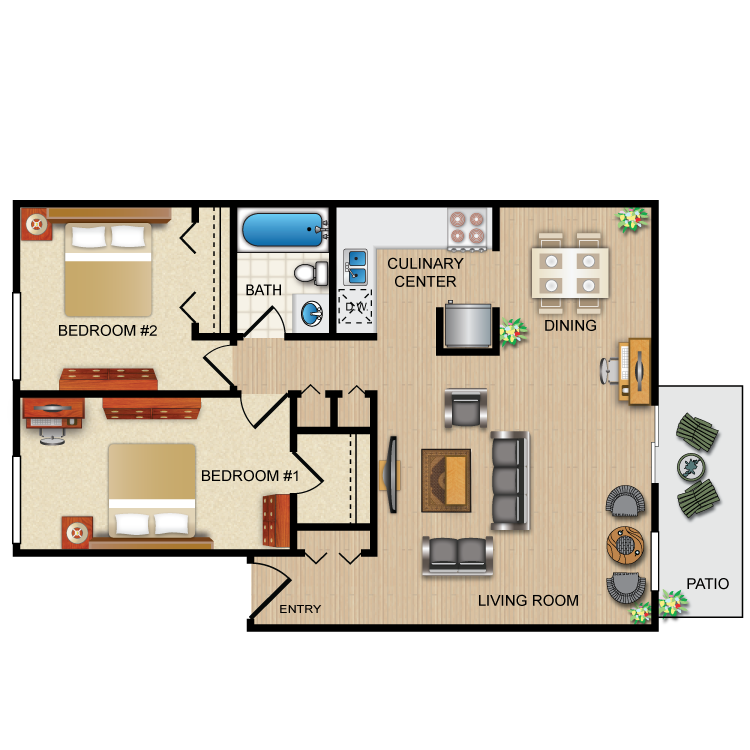 Floor plan image of The Ruby