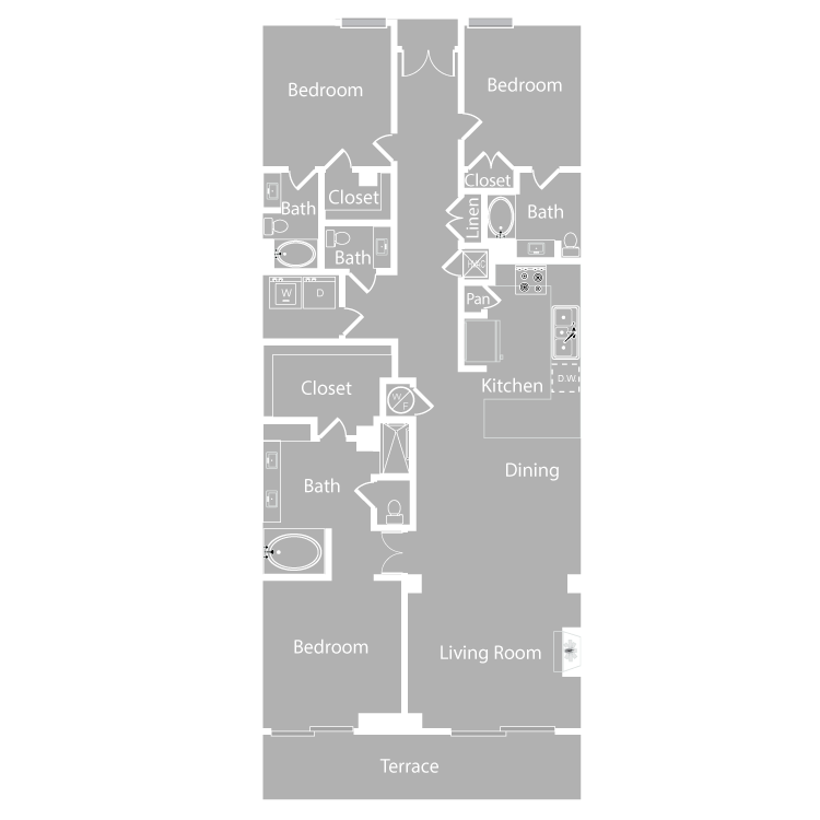 Floor plan image of Cipriani
