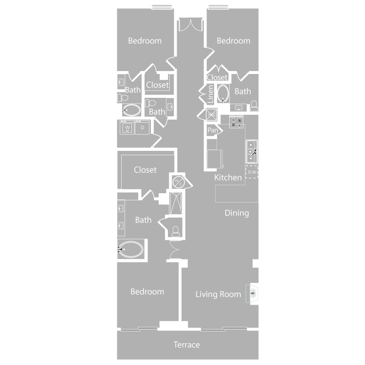 Floor plan image of Capri