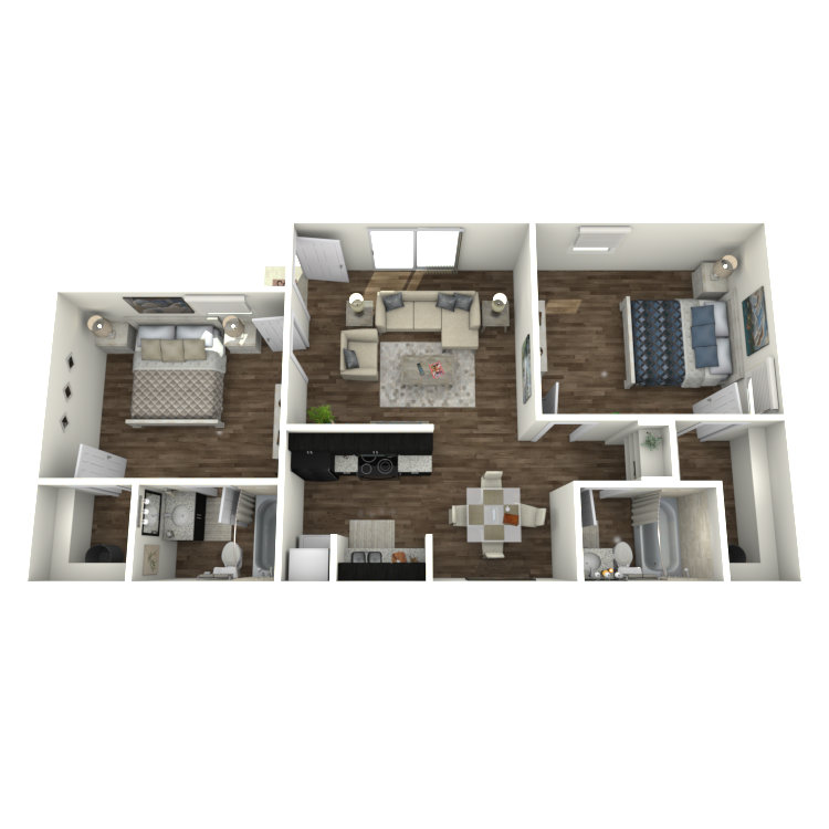 Floor plan image of B2-R