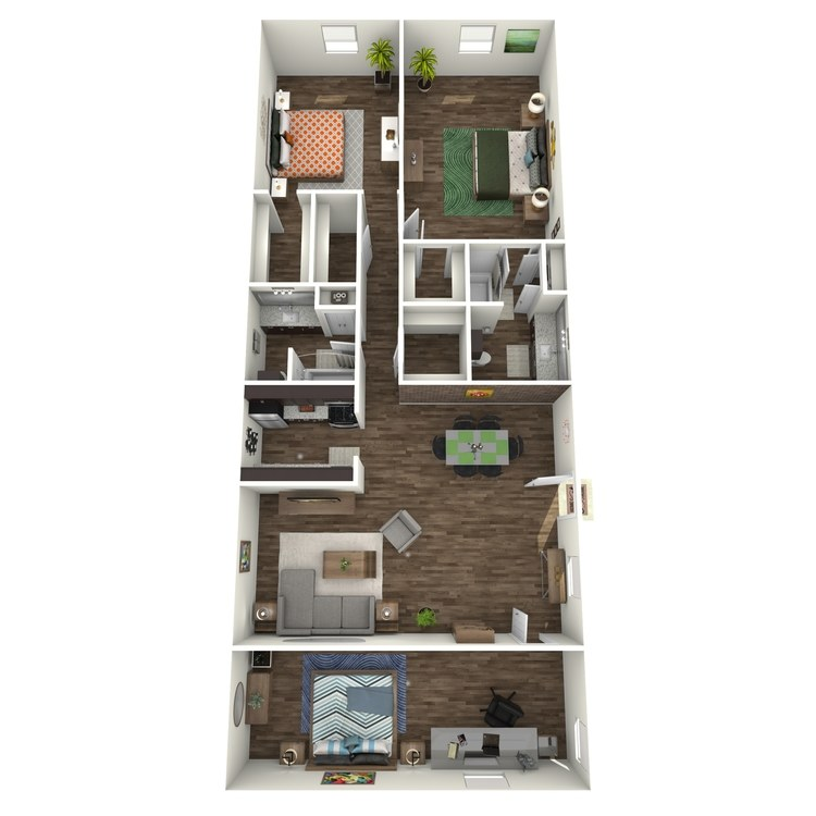 Floor plan image of C4