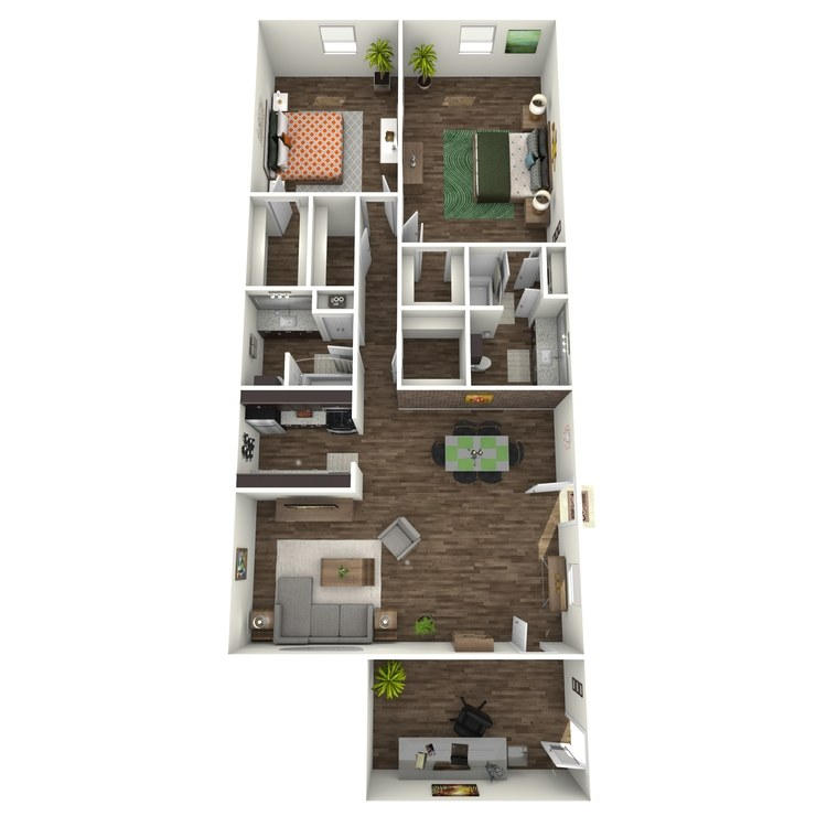 Floor plan image of B9