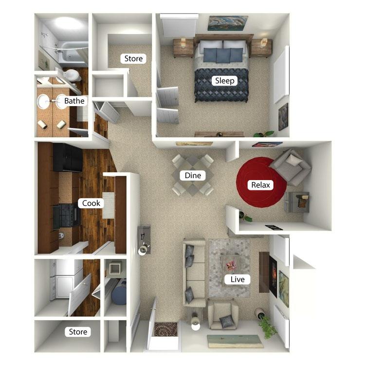 Floor plan image of Piedmont