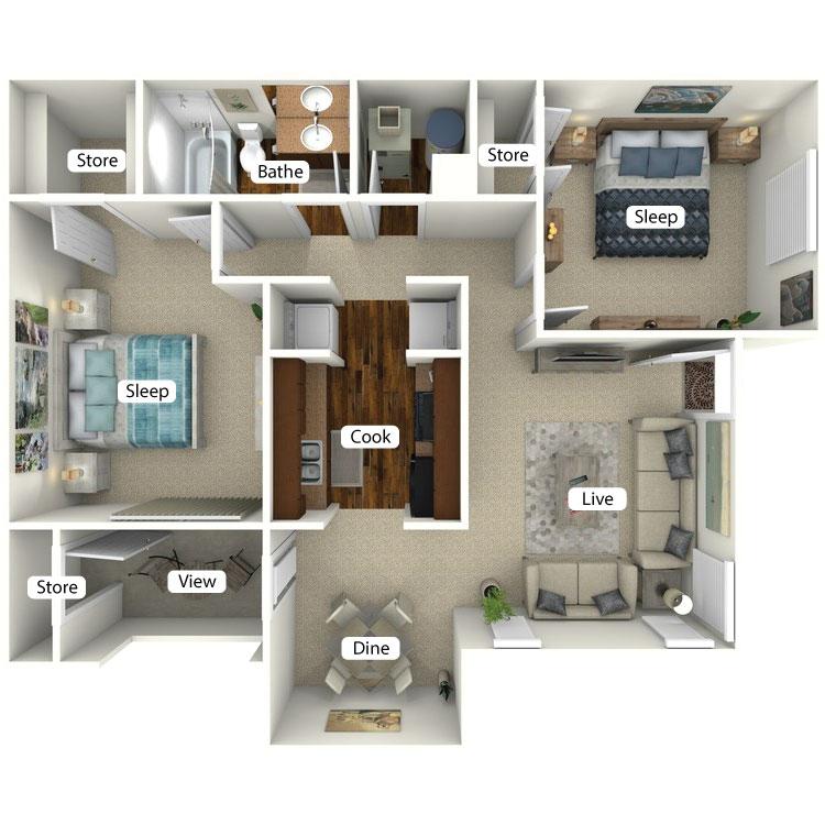 Floor plan image of Lenox