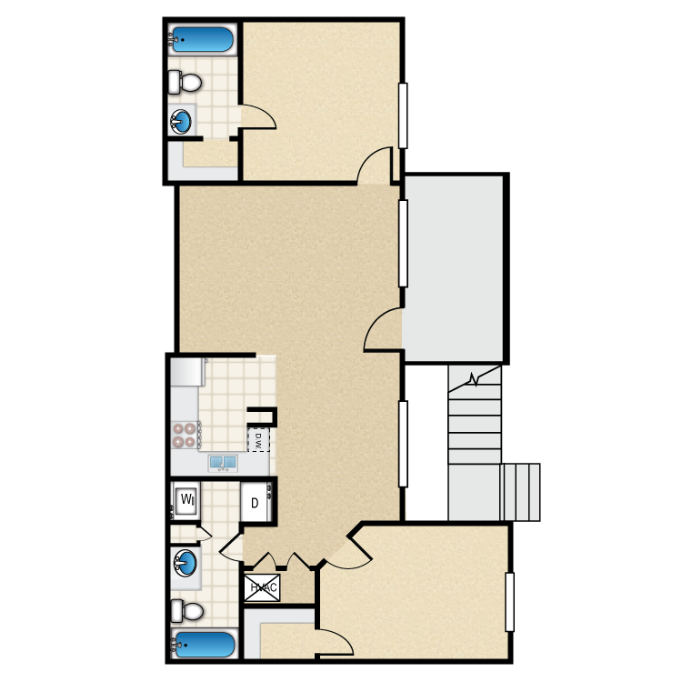The Richmond floor plan image