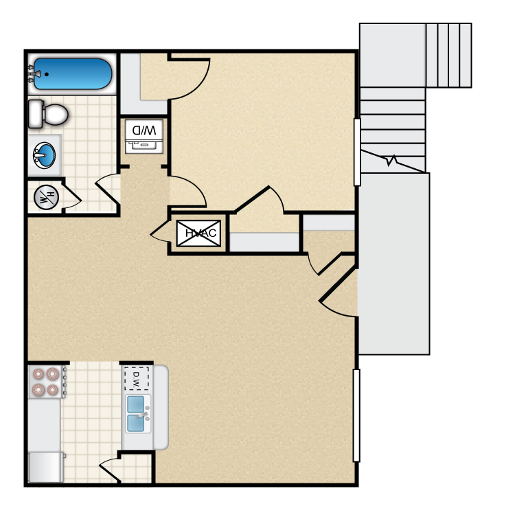 The Stratford floor plan image