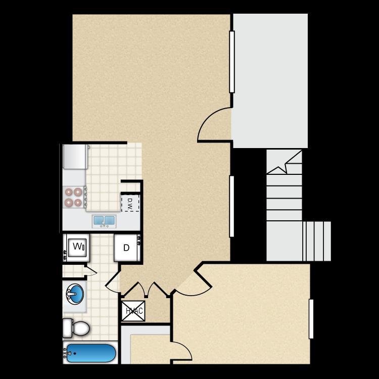 The Wellington floor plan image