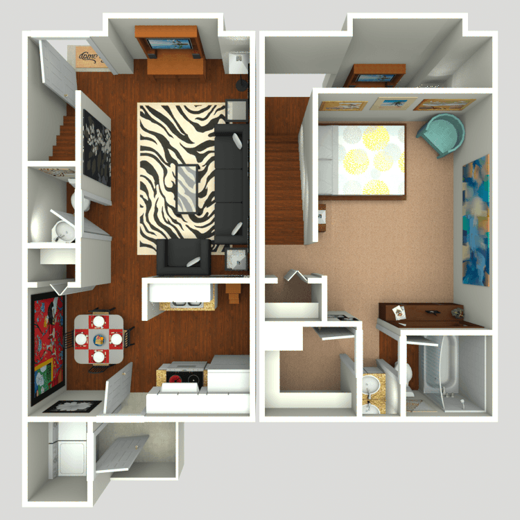 Floor plan image of T