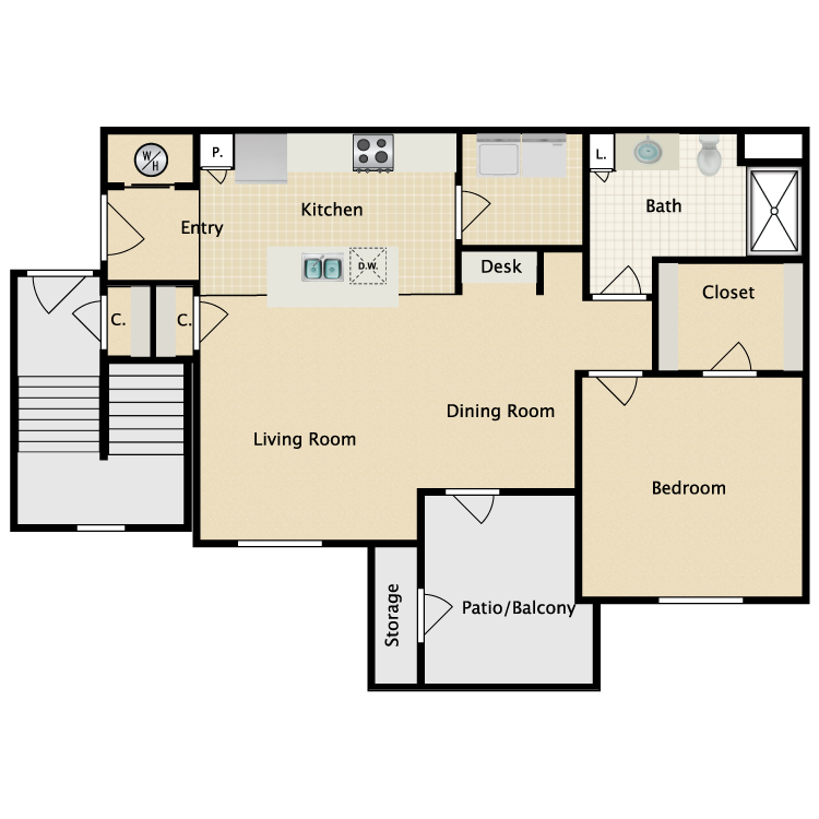 Floor plan image of Carpi