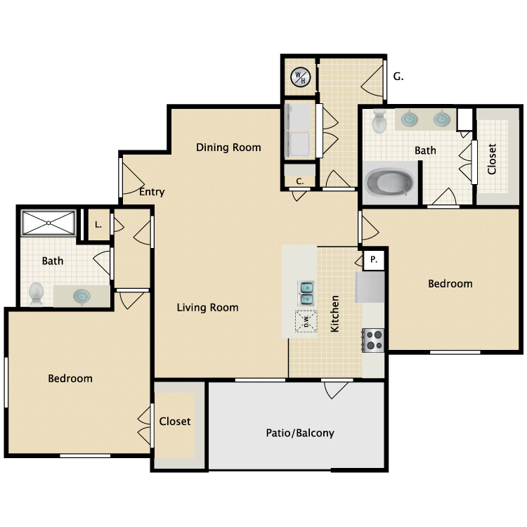 Floor plan image of Livorno