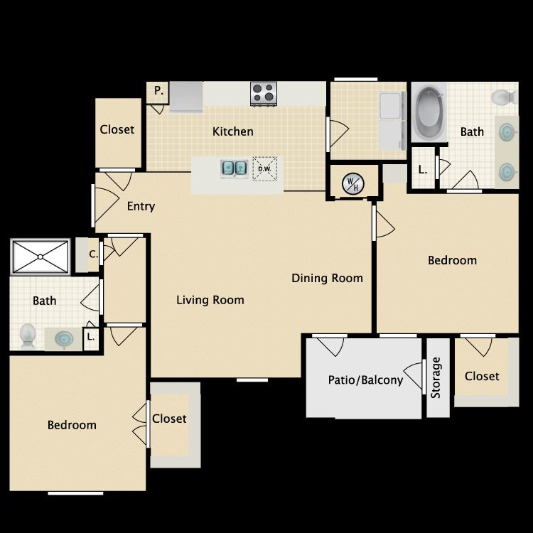 Floor plan image of Pesaro