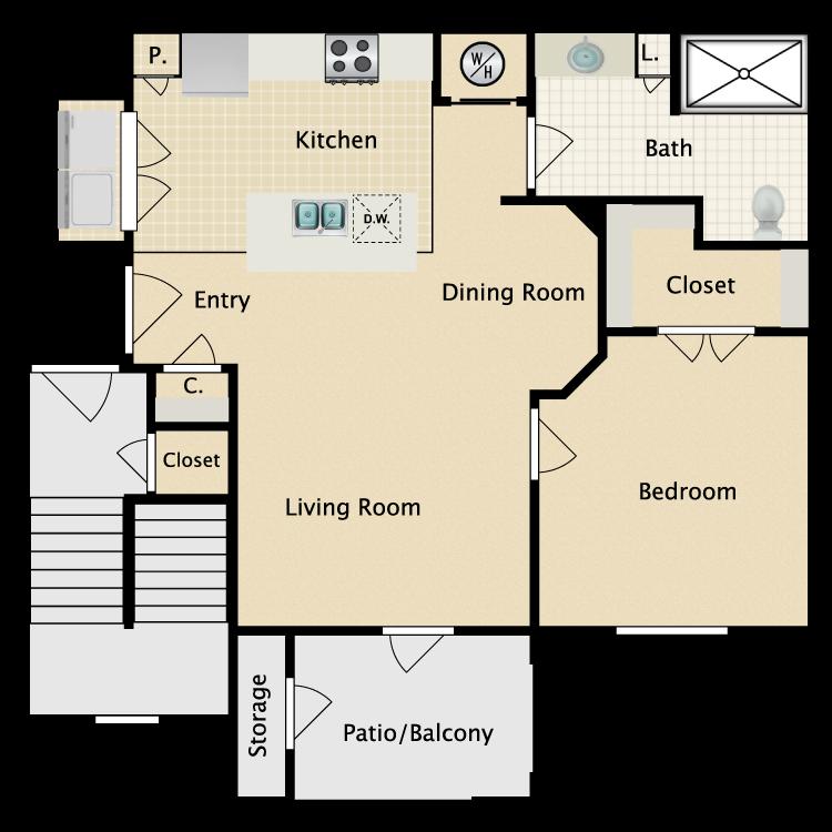 Floor plan image of Pisa