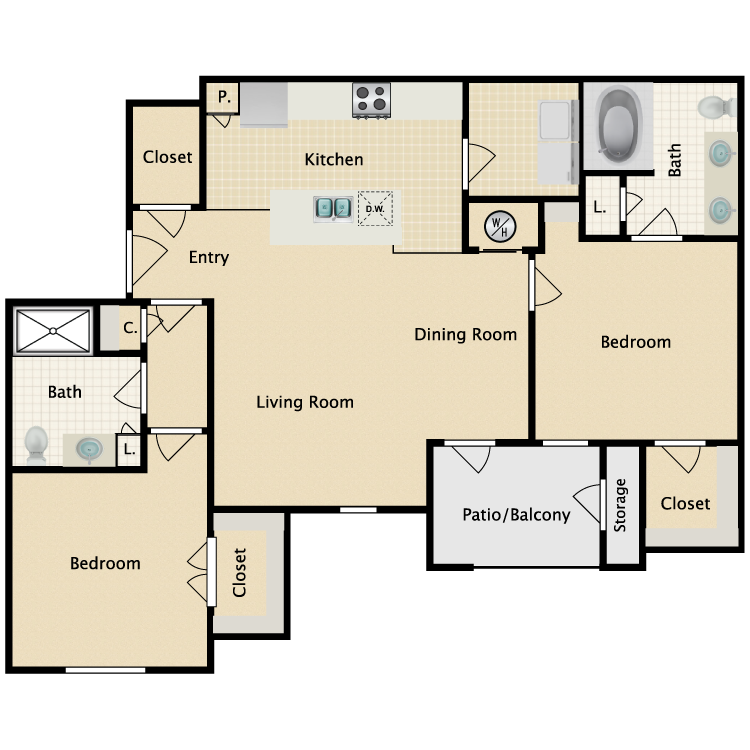 Floor plan image of Varese