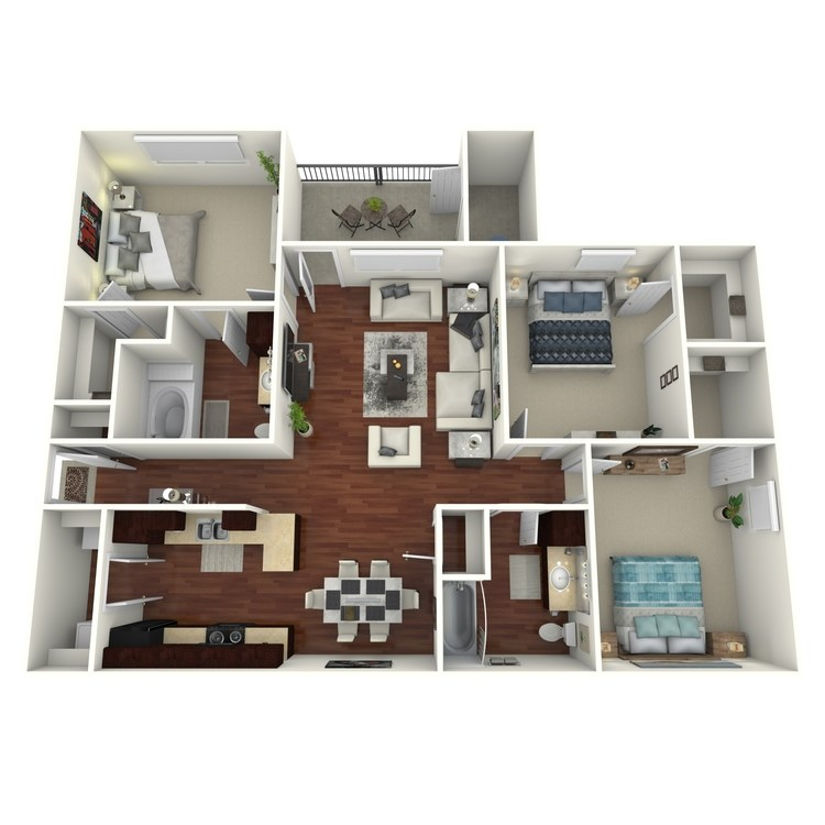 Floor plan image of Tchefuncte