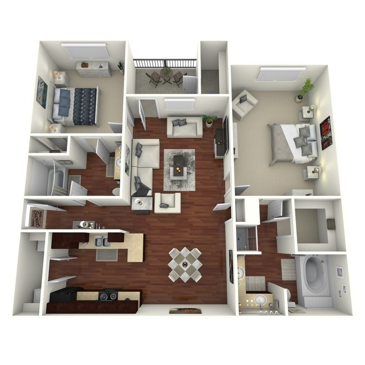 Floor plan image of Abita
