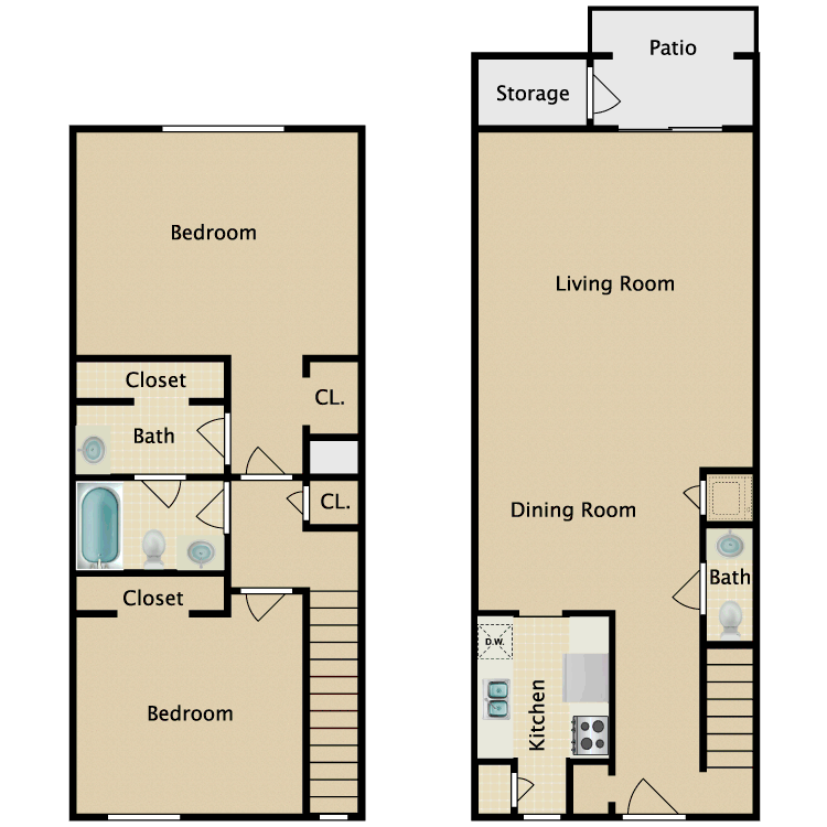 Floor plan image of The Canterbury