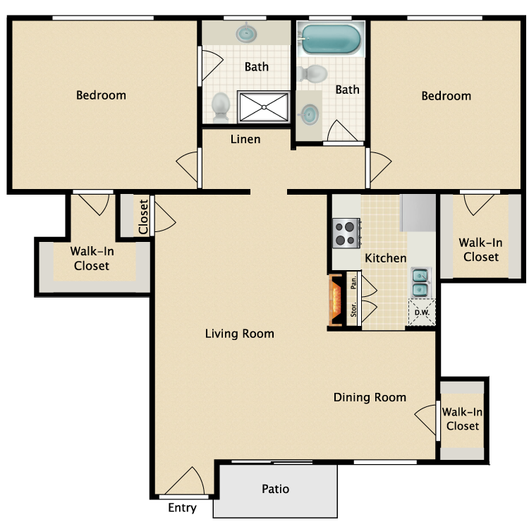 Floor plan image of Plan H