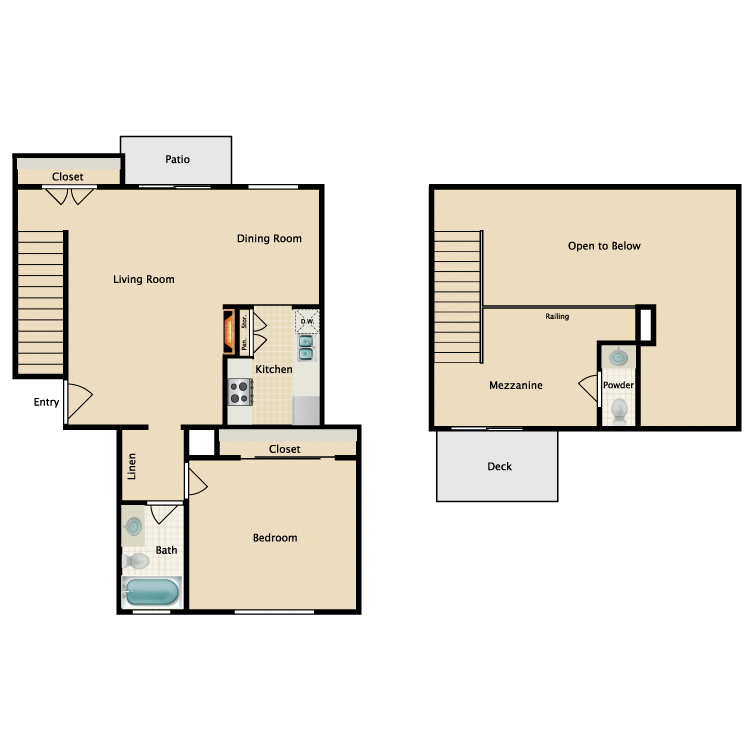 Floor plan image of Plan L