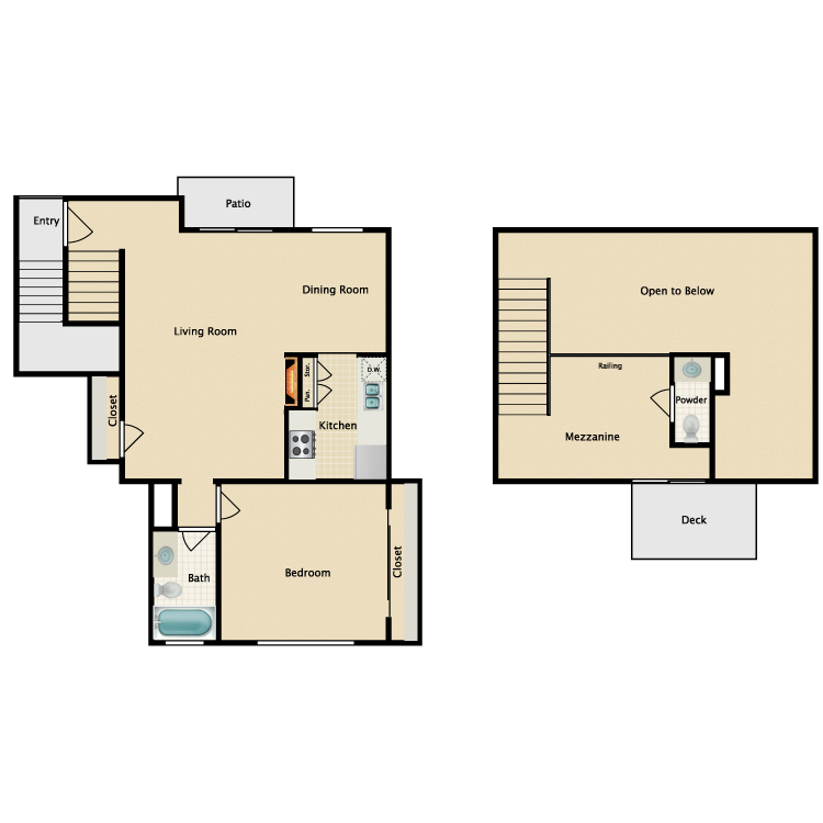 Floor plan image of Plan M