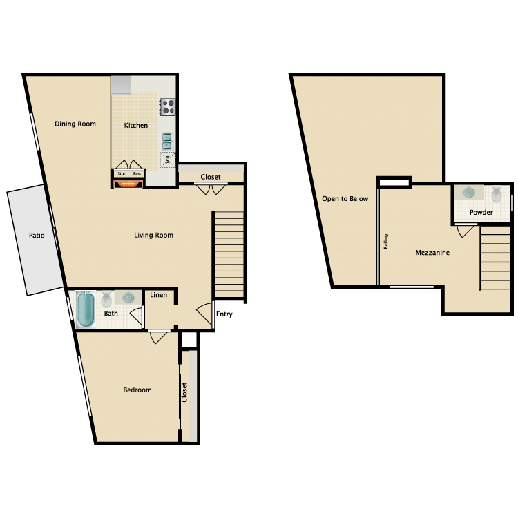 Floor plan image of Plan N