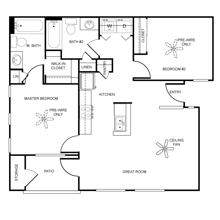 Floor plan image of Hermosa