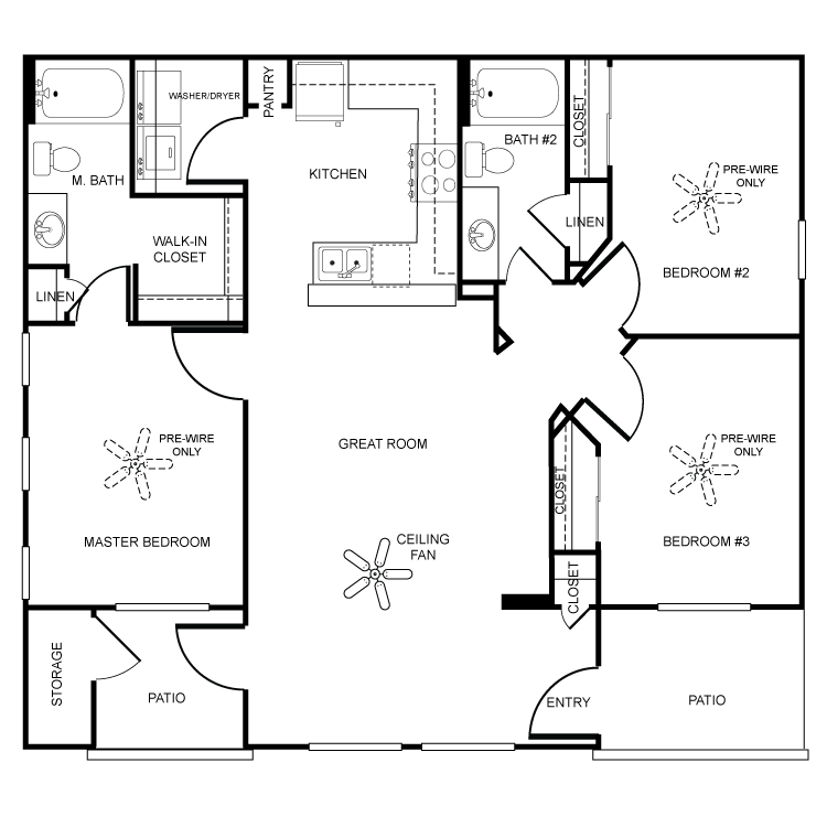 Floor plan image of Paraiso
