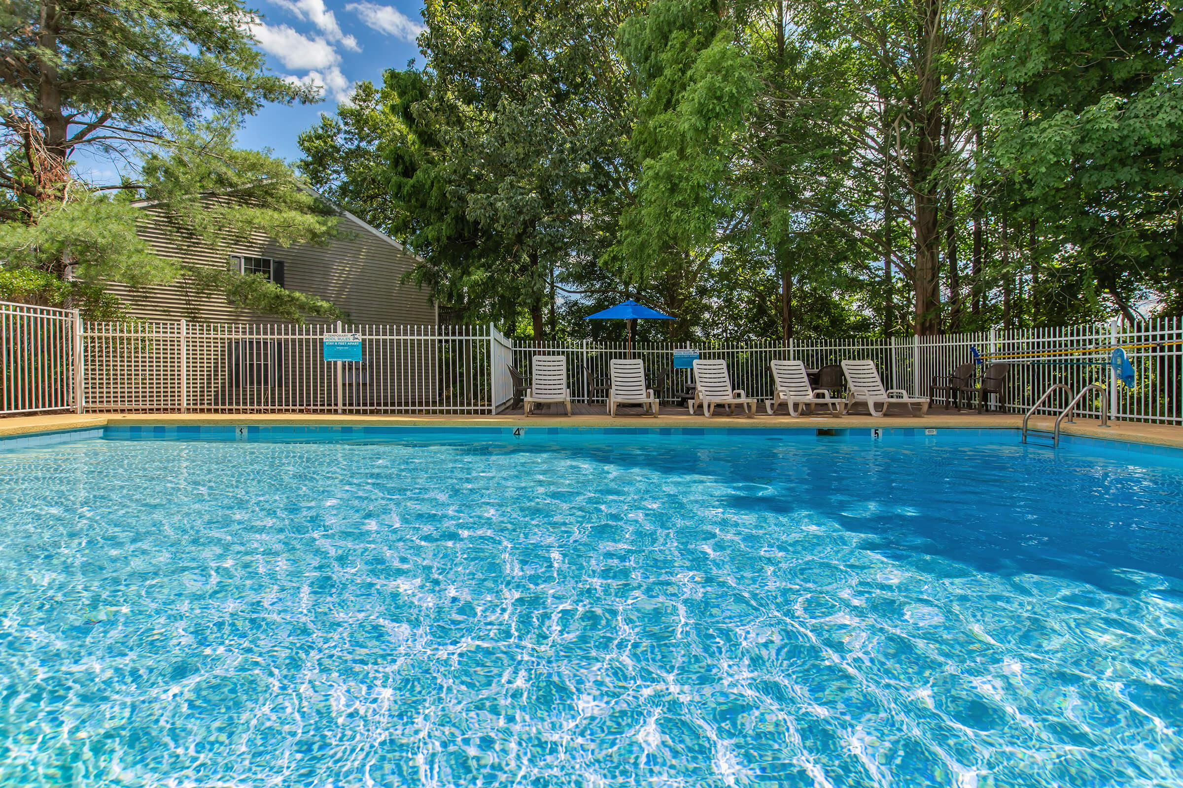 CHILL AND RELAX BY OUR SPARKLING SWIMMING POOL
